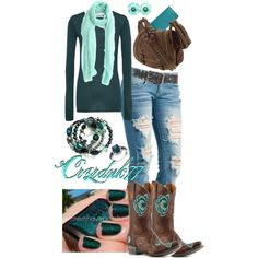 """Love these Boots!!"" by crzrdnk77 on Polyvore"