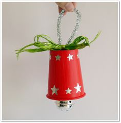 Christmas Crafts For Kids To Make, Preschool Christmas, Toddler Christmas, Christmas Activities, Xmas Crafts, Christmas Bells, Simple Christmas, Christmas Holidays, Christmas Decorations