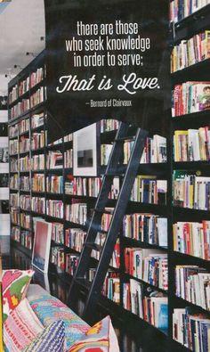 knowledge & love