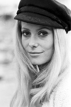 "missavagardner: "" ""Catherine Deneuve, 1960s. "" """