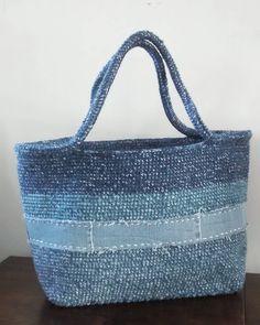 Tote bag #totebag #blue #denim