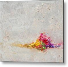 Minimalist Painting White Abstract Art by JuliaApostolova on Etsy
