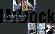 Voor IJdock ontwikkelden we een brand identity, met daarnaast een brochure en andere marketingcommunicatiemiddelen. #branding #logo #design #unique #location #communicatiebureau #bedrijf #amsterdam