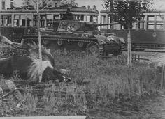 Battle of Voronezh, July 1942: German Panzer III Ausf. L (formerly Ausf. J) armed with 5 cm Kw.K 39 L/60 gun.