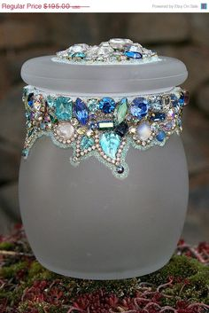 SALE Vintage Rhinestones Crystals Jeweled by ASoulfulJourney, $156.00