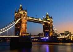 Tower Bridge of London - One of the many and most recognisable icons of London - the Tower Bridge of London