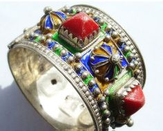 Traditional Algerian jewellery from the Kabylie region
