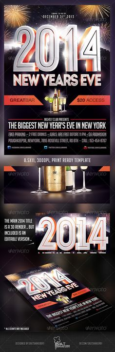 Models And Bottles Flyer Template Vol.2 - GraphicRiver PSD | My ...