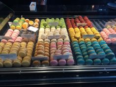 Macarons and more pastry at Adriano Zumbo Melbourne. More at the blog.