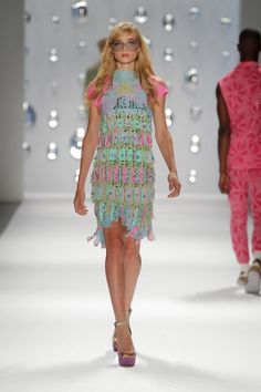 Custo Barcelona - S/S 2013 X-ray Collection Runway Review