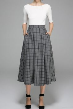 d64e7e43aad 18 Best MIDI skirt with ankle boots images