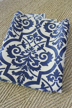 How To Slipcover an Ottoman (Again!)   Less Than Perfect Life of Bliss   home, diy, travel, parties, family, faith