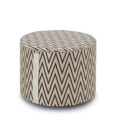 REWARI #381 POUF 40X30 - MISSONI HOME at Spence & Lyda #ottomans #spenceandlyda #missonihome #australia #sydney #cotton