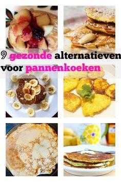 9 alternatieve recepten voor gezonde pannenkoeken - Mamaliefde.nl