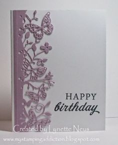 My Stamping Addiction: Memory Box Butterflies - Part One