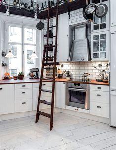 Charming loft duplex with Scandinavian details in Kungsholmen