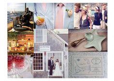 Inspiration Board: A Cape Cod Wedding
