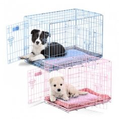 Precision Pet SnooZZy Baby Wire Dog Crate with 2 Doors