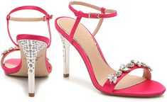 Skechers Go Walk 3 Womens Shoes Refferal: 3664104208 Womens High Heels, Womens Flats, High Heel Boots, Heeled Boots, Hot Pink Heels, Badgley Mischka Shoes, Mens Fashion Shoes, Jewels, Women Sandals