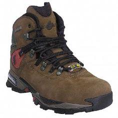 N1548 Nautilus Men's Waterproof Safety Boots - Brown www.bootbay.com