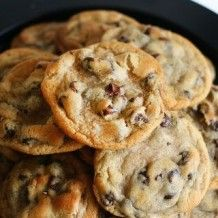 new york time's chocolate chip cookies.