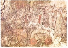 Part of the original Tapestry from 834 AD