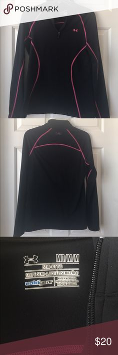 Women's semi fitted Under Armor jacket Women's semi fitted cold gear Under Armor jacket. Size medium. Under Armour Jackets & Coats