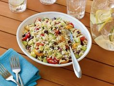 Orzo Salad With Grape Tomatoes and Feta Recipe - Allthecooks.com