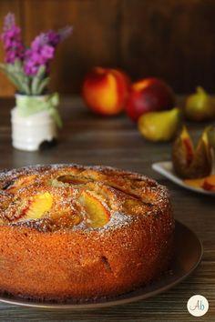 Torta Fichi e Pesche al profumo di limone | Aryblue