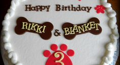 Birthday Cakes For Dogs 2014 Photo