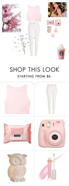 """""""Chill"""" by seafoam-volleyball ❤ liked on Polyvore featuring Victoria's Secret, River Island, Neutrogena and Stila"""