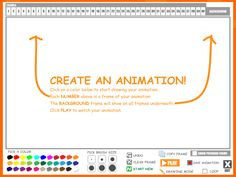 ABCya! has a neat tool to create fun animations online.