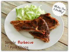 A Busy Mom's Slow Cooker Adventures: Simple Barbecue Pork Chops - Gluten-Free