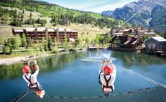 Colorado ski resorts bring thrilling activities during the summer months with gondola-accessed mountain-top yoga, gourmet hiking lunches, wicked-awesome bike parks, challenging disc golf and more.
