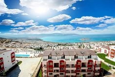 Sea view apartments for sale in Akbuk, Aydin, Turkey viewofwater.com