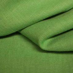 Leinenstoff Grasgrün