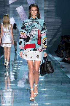 Why Versace's Spring Collection Is One for the Books via @WhoWhatWear