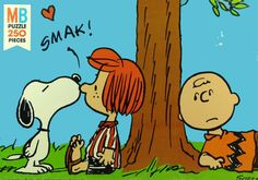 Snoopy Kisses Peppermint Patty