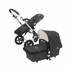 Bugaboo Cameleon 3 Stroller-Grey/Off-White Exclusive #strollinstyle #TeaWelcomeBaby