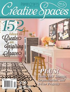 Creative Spaces Vol. 3 Sneak Peek  Take a look at a few of the inspiring Creative Spaces in this new special issue by Paper Crafts & Scrapbooking magazine.