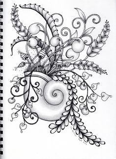 doodle zen zentangle drawings intricate doodles beautifull tangle really designs patterns zentangles mandalas