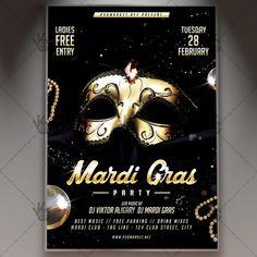 Mardi Gras Night – Premium Flyer PSD Template. #ball #carnival #carnivalflyer #carnivalmardigrasflyer #glamorous #mardigras #mardigrasflyer #mardigrasparty #mask #maskpartyflyer #masqerade #masquerade DOWNLOAD PSD TEMPLATE HERE: https://www.psdmarket.net/shop/mardi-gras-night-premium-flyer-psd-template/ MORE FREE AND PREMIUM PSD TEMPLATES: https://www.psdmarket.net/shop/