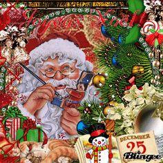 Merry Christmas Gif, Christmas Scenery, Beautiful Christmas Decorations, Whimsical Christmas, Christmas Art, Christmas Greetings, Vintage Christmas, Animated Christmas Pictures, Merry Christmas Pictures