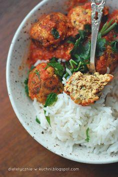 Moje Dietetyczne Fanaberie: Lekkie pulpeciki z tofu