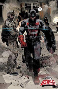 Captain America: Sam Wilson #11 by Daniel Acuña *