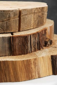 Buy wooden tree slabs or find an old tree stump. Give the boys some nails and let them go to work!