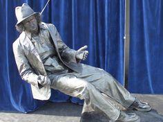 Levend standbeeld Martin Forget wint World Statues Festival Living Statue, Statues, Forget, World, Art, The World, Craft Art, Kunst, Effigy