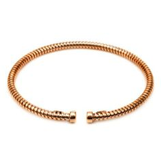 Sterling Silver Italian Rose Gold Plated Fancy Cuff Bracelet Amazon Curated Collection. $49.00. Made in Italy. Save 55% Off!