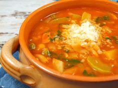 Supa minestrone.