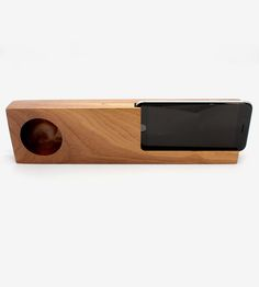 Wood Acoustic Phone Amplifier by Audio Tree on Scoutmob